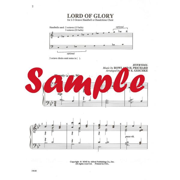 Lord of Glory, Rowland H. Prichard, Susan E. Geschke For Håndbjeller