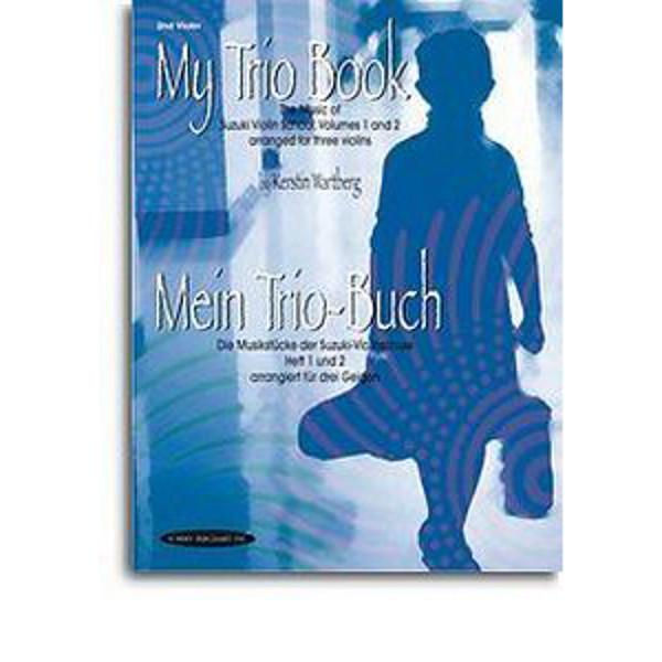 My trio book Suzuki vol 1-2 2nd Violin Kerstin Wartberg