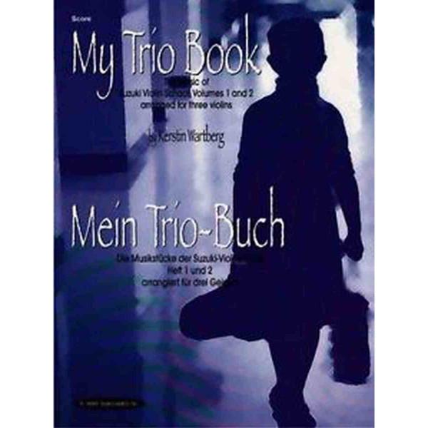 My trio book Suzuki vol 1-2 CD Acc. Kerstin Wartberg