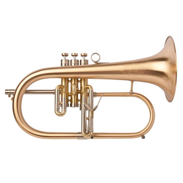 Flygelhorn Adams F2, Gold Brass, 170mm/ML1 0,5mm/0.55, Brushed Lacquer