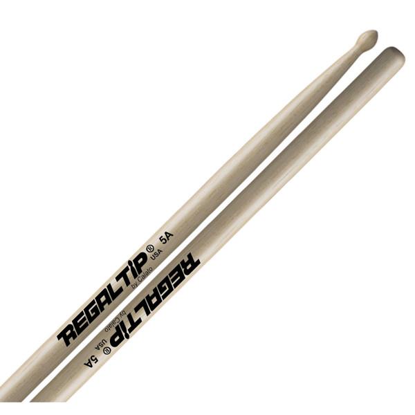 Trommestikker Regal Tip Classic 5A 205R, Hickory, Wood Tip