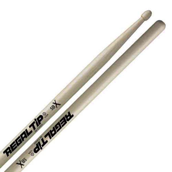 Trommestikker Regal Tip Classic 5BX 225RX, Hickory, Wood Tip