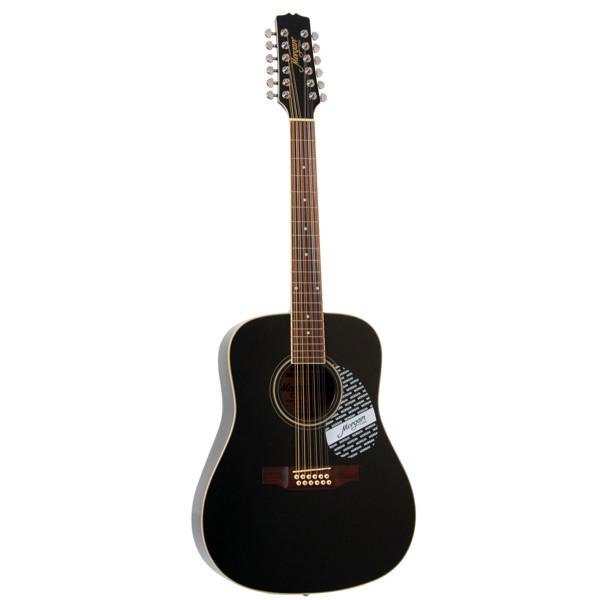 Gitar 12-Strengs Morgan W 116-12 BLK