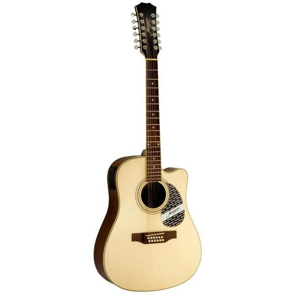 Gitar 12-Strengs Morgan W 116-12 CE N