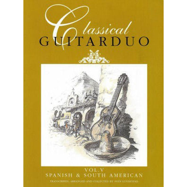 Classical Guitarduo 5 Spanish & South American Lundestad