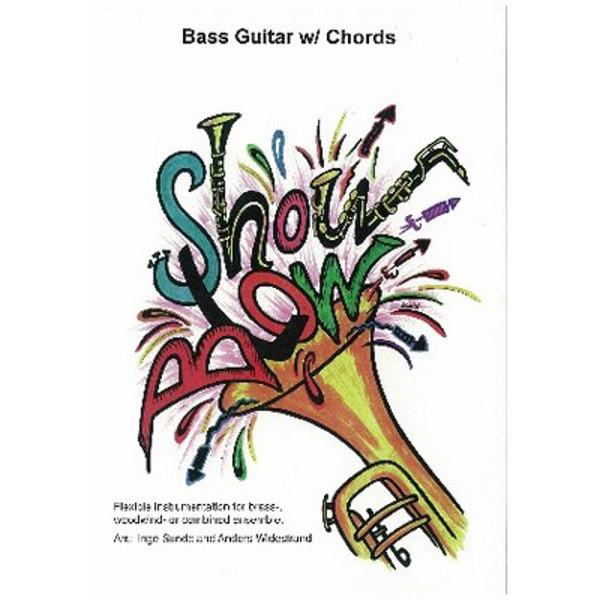 Showblow Folio Bass Guitar w/Chords