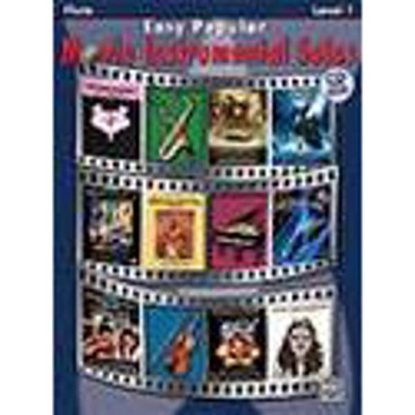 Easy Popular Movie Instrumental Solos Flute/CD