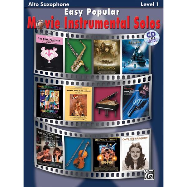 Easy Popular Movie Instrumental Solos Alto-Sax/CD