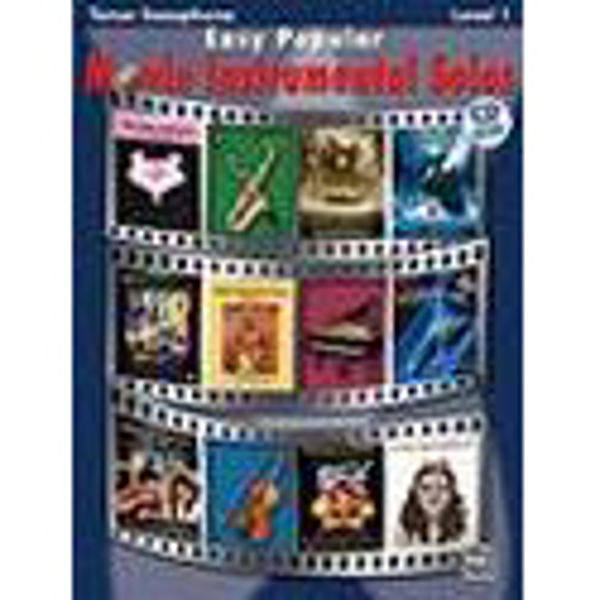 Easy Popular Movie Instrumental Solos Ten-Sax/CD