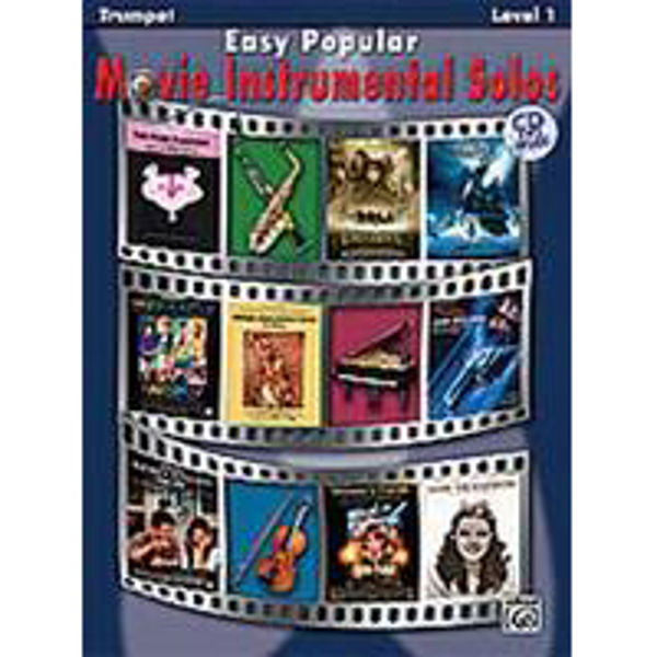 Easy Popular Movie Instrumental Solos Trumpet/CD