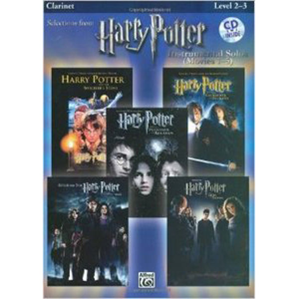 Selections from Harry Potter - Clarinet - Instrumental Solo Play-Along