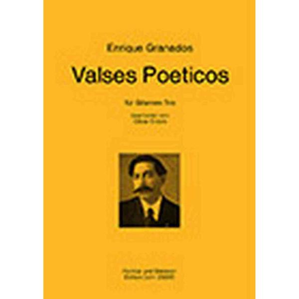 Enrique Granados Valses Poeticos - Guitar Trio