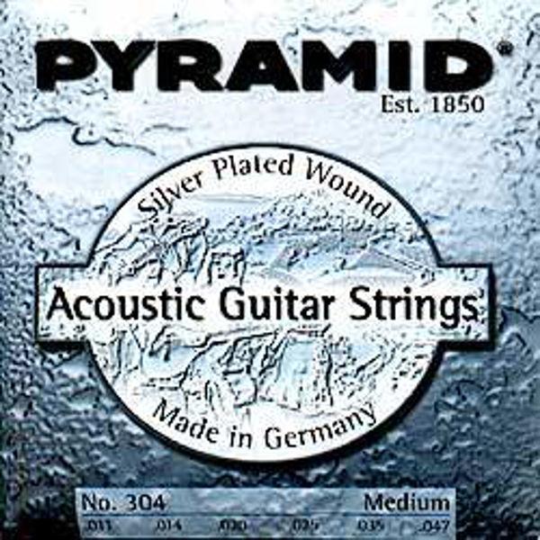 Gitarstrenger Akustisk Pyramid .011-.047 Medium