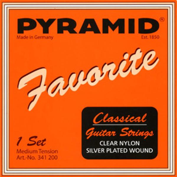 Gitarstreng Nylon 4D Pyramid (Medium)