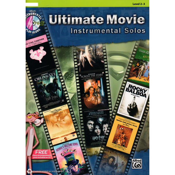 Ultimate Movie Instrumental Solos Trombone Level 2-3