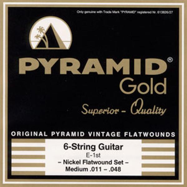 Gitarstrenger Elektrisk Pyramid Gold Superior .011-.048