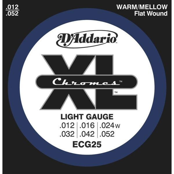 Gitarstrenger Elektrisk D'Addario ECG25 Chromes Light