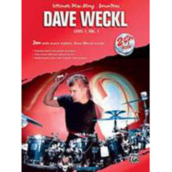 Ultimate Play-Along For Drum Level 1, Vol 1. Dave Weckl