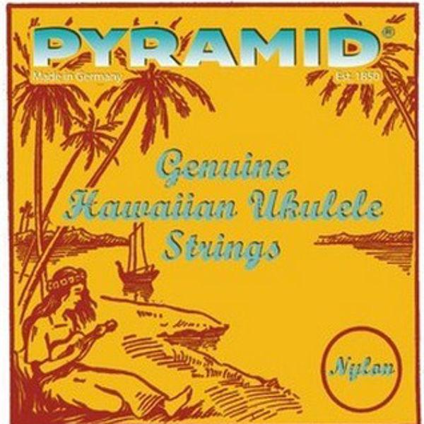 Ukulelestrenger Pyramid Sopran sett Nylon