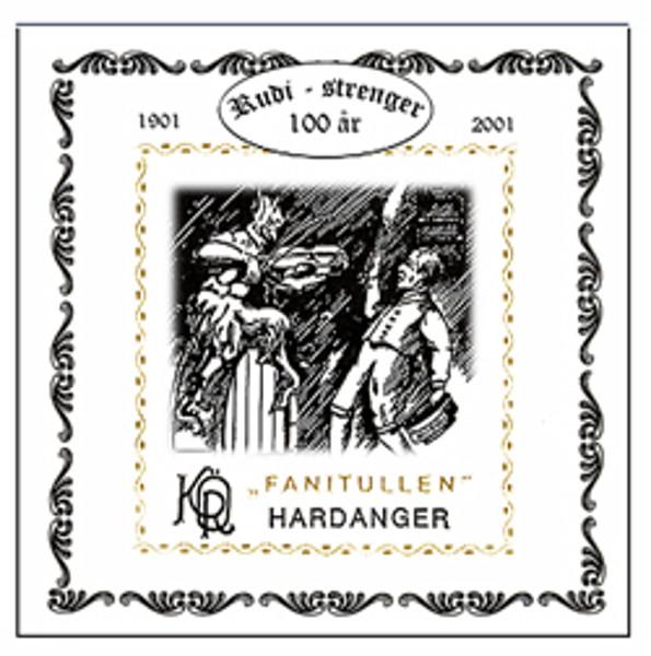 Hardangerfelestreng Fanitullen 1E-Kvint 11 Sølvstål