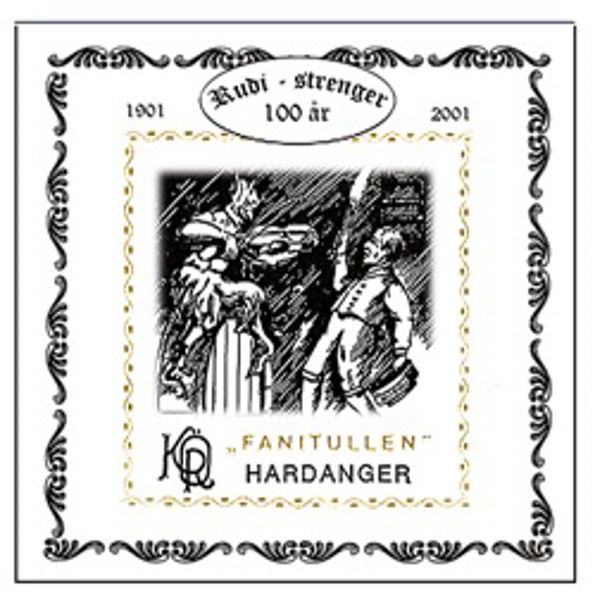 Hardangerfelestreng Fanitullen 2A-Kvart 11 Stål Helspunnet