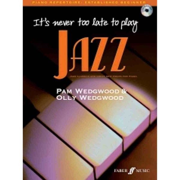 It's never too late to play Jazz piano