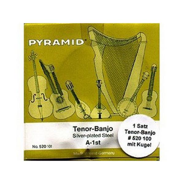 Banjostrenger Pyramid Tenorbanjo sett (4 strenger)