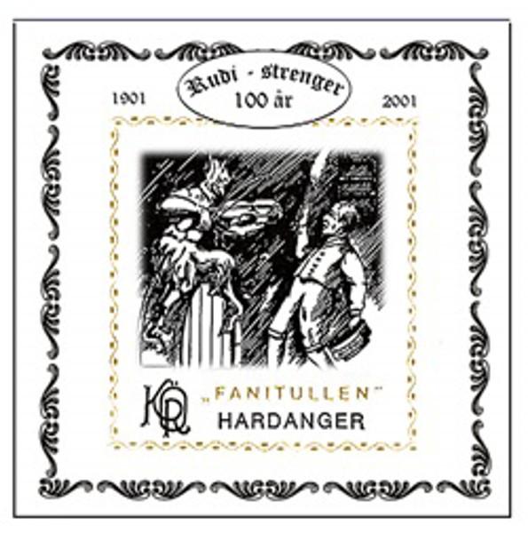 Hardangerfelestreng Fanitullen 3D-Ters 11 Tarm/Sølv 830S Langspunnet