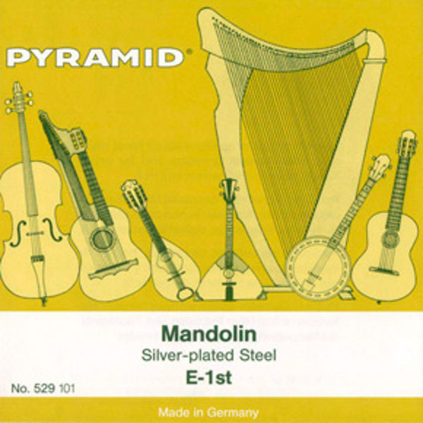 Mandolinstrenger Pyramid sett (8 strenger)
