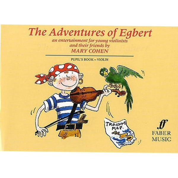Adventures of Egbert (fiolin), elevbok - Mary Cohen