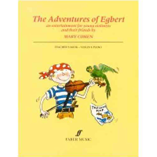 Adventures of Egbert (fiolin), lærerveiledning - Mary Cohen