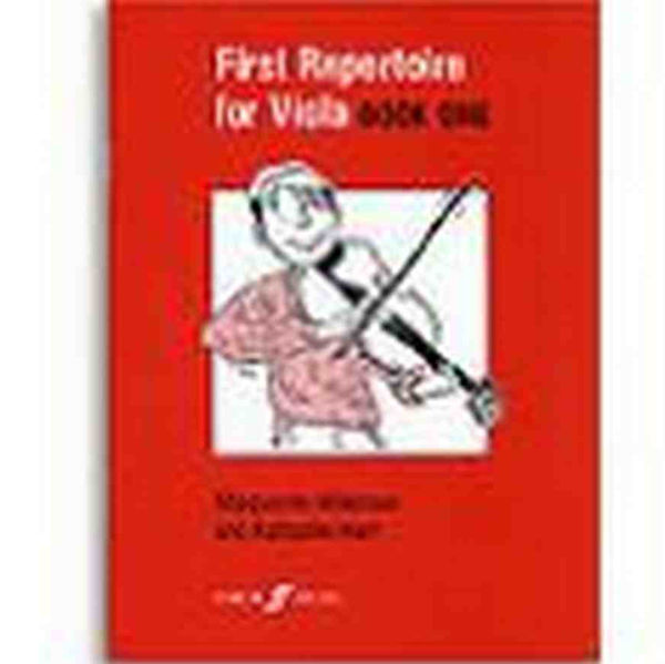 First repertoire for viola - book one