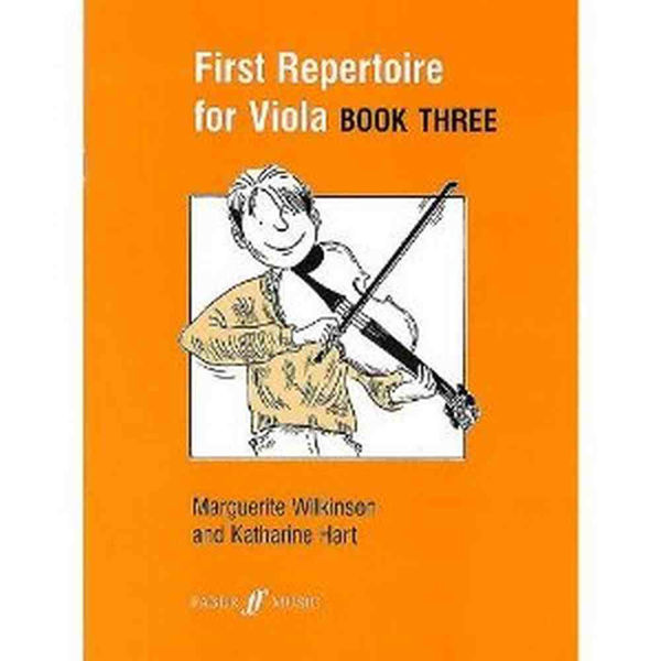 First repertoire for viola - book three