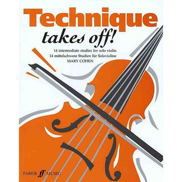 Technique takes off (violin) - Mary Cohen