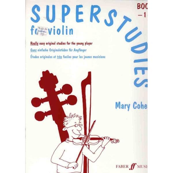 Superstudies Violin vol 1, Mary Cohen