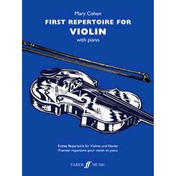 First Repertoire for violin - Mary Cohen