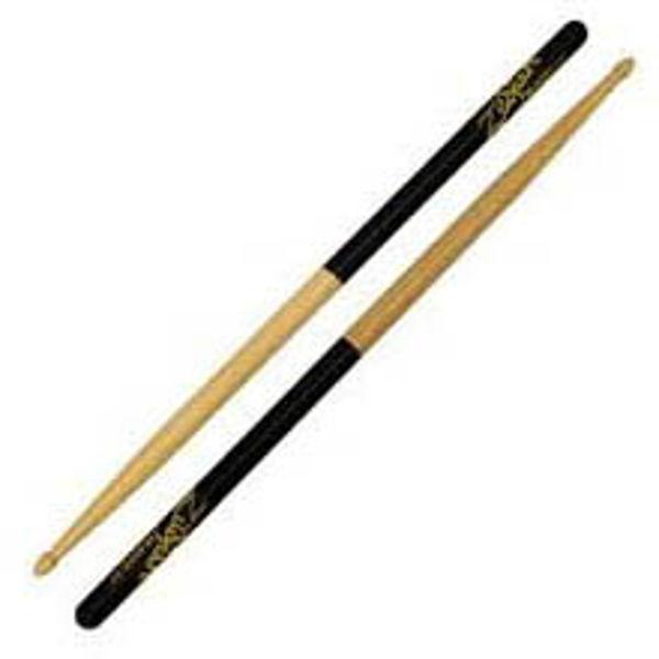 Trommestikker Zildjian Acorn Black Dip 5ACD, Hickory, Wood Tip