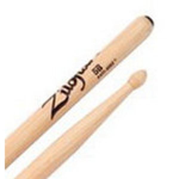 Trommestikker Zildjian Anti-Vibe 5BWA, Hickory, Wood Tip