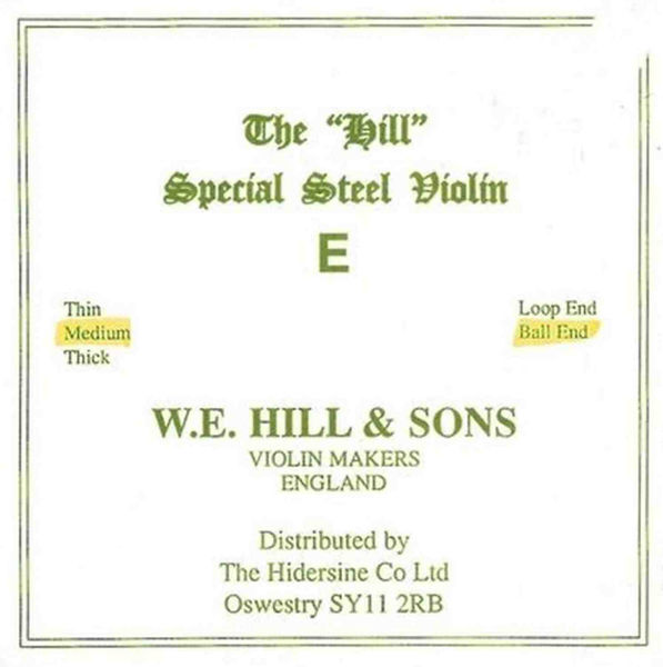 Fiolinstreng Hill 1E Medium