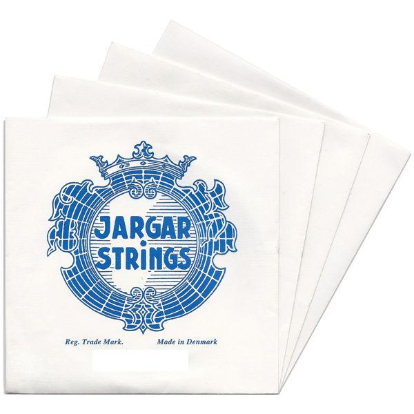 Fiolinstrenger Jargar Classic Sett Medium Blå