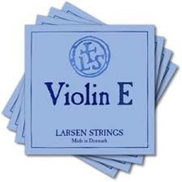 Fiolinstreng Larsen Original 1E Soft Gold Wound, Ball end