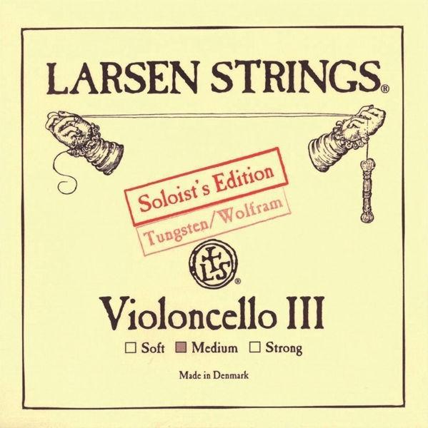 Cellostreng Larsen Original 3G Soliost Medium  Tungsten Wound