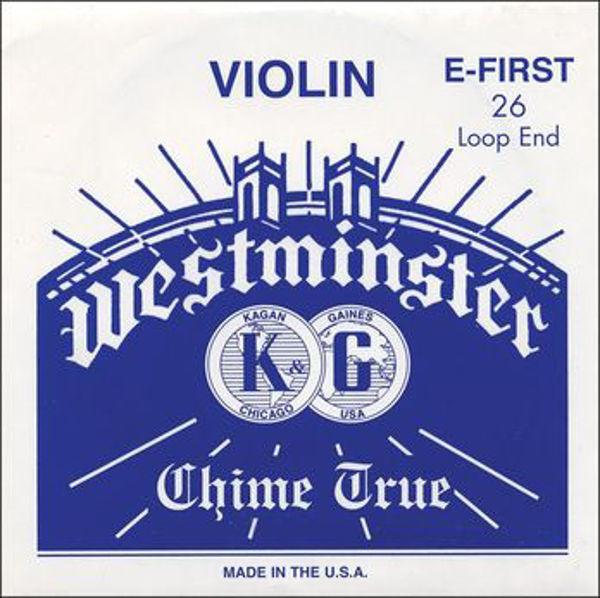 Fiolinstreng Westminster 1E str. 26 ball end