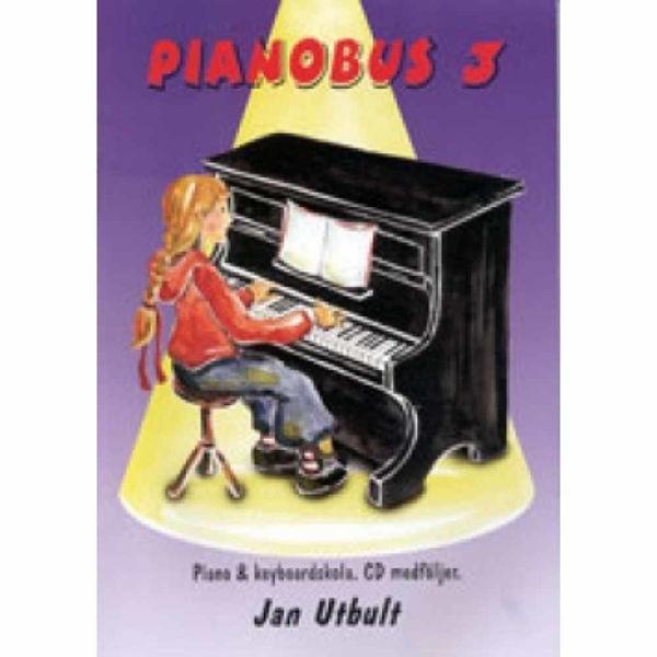 Pianobus 3, Nybörjerskola för piano & keyboard. Jan Utbult