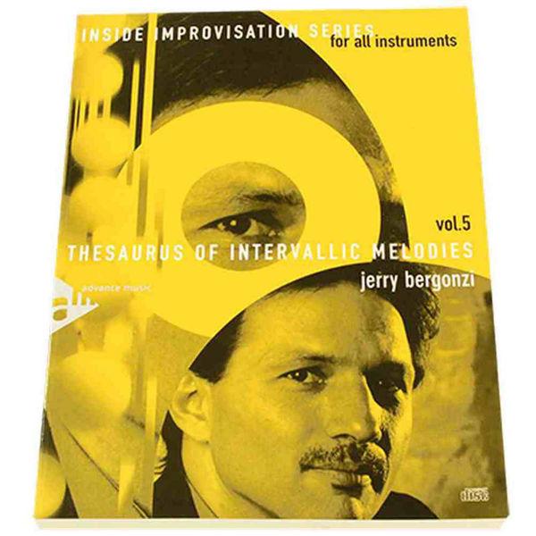 Jerry Bergonzi vol 5 - Thesaurus of intervallic melodies
