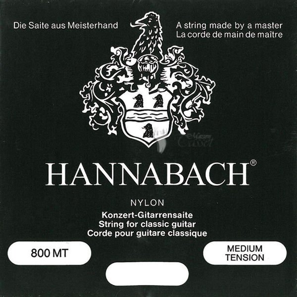 Gitarstrenger Klassisk Hannabach Medium