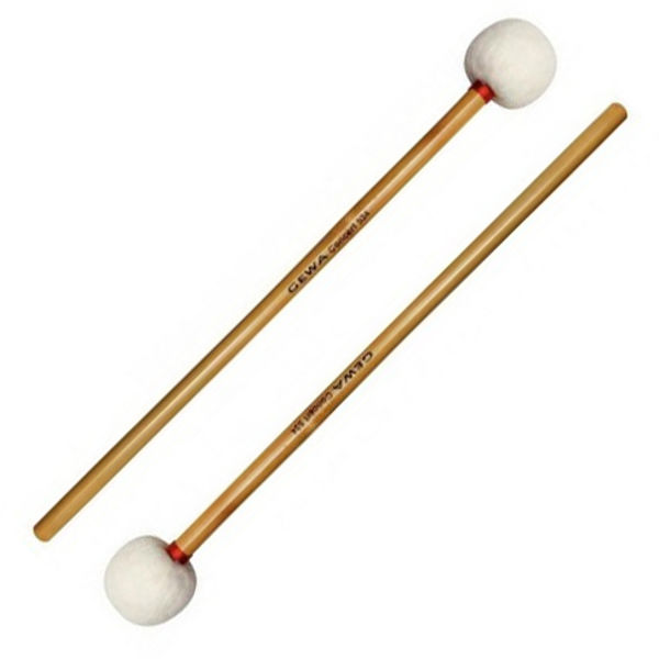 Paukekøller Gewa Concert 534, Soft Felt, Bamboo Handle