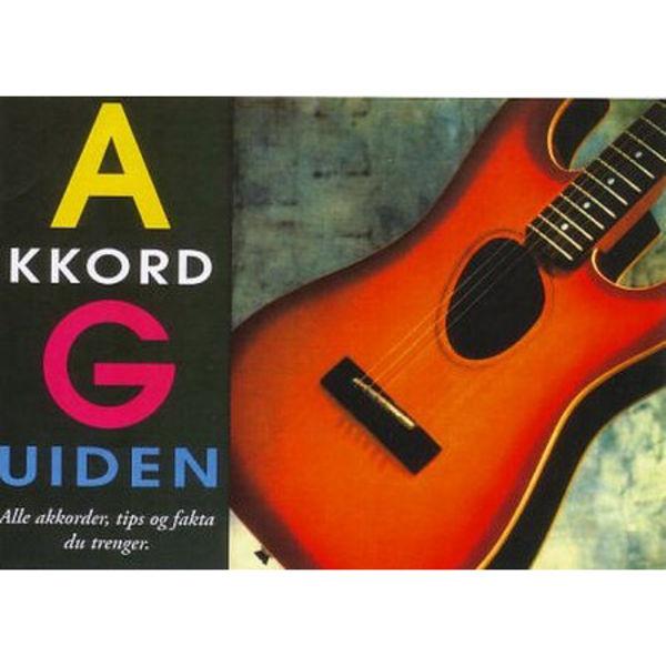 Akkordguiden Gitar Norsk - Jan Stenborg