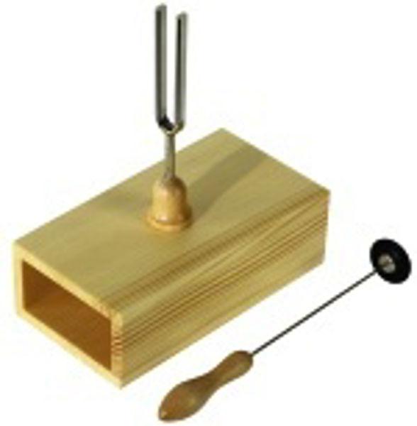 Stemmegaffel Wittner 440 Hz 12 cm med Resonanskasse