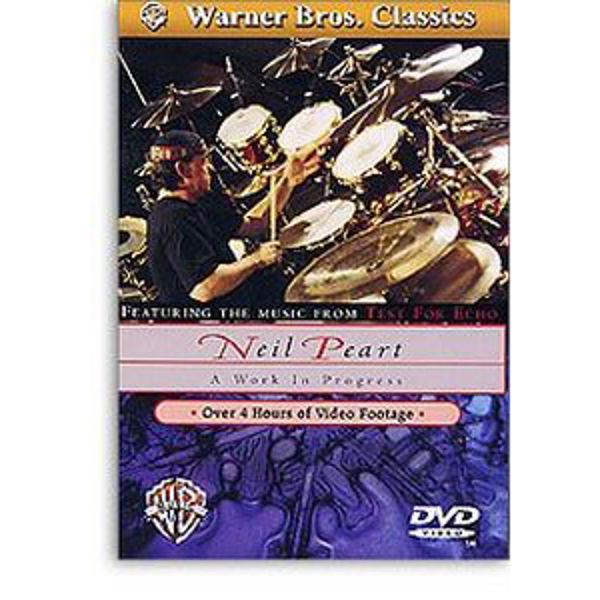 DVD Neil Peart, A Work In Progress
